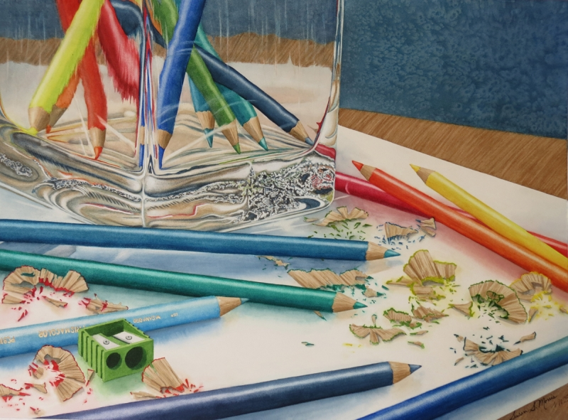 "SUSAN MORRIS ""TOOLS OF THE TRADE COLORED PENCILS"""