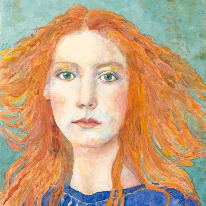 "ANNE TURNER BELETIC "" THE RED HEAD"""