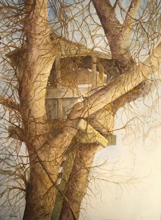 "CINDY KAMBOURIAN  ""BIRD HOUSE"""