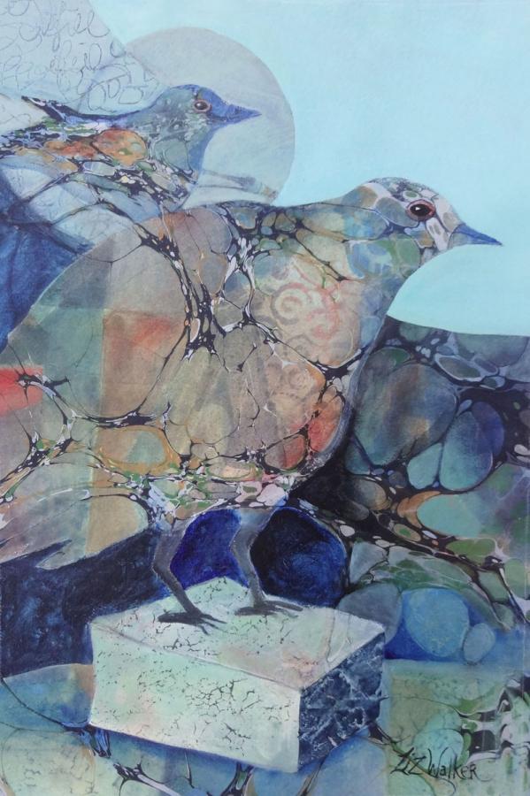 "LIZ WALKER ""BIRDS IN THOUGHT"""